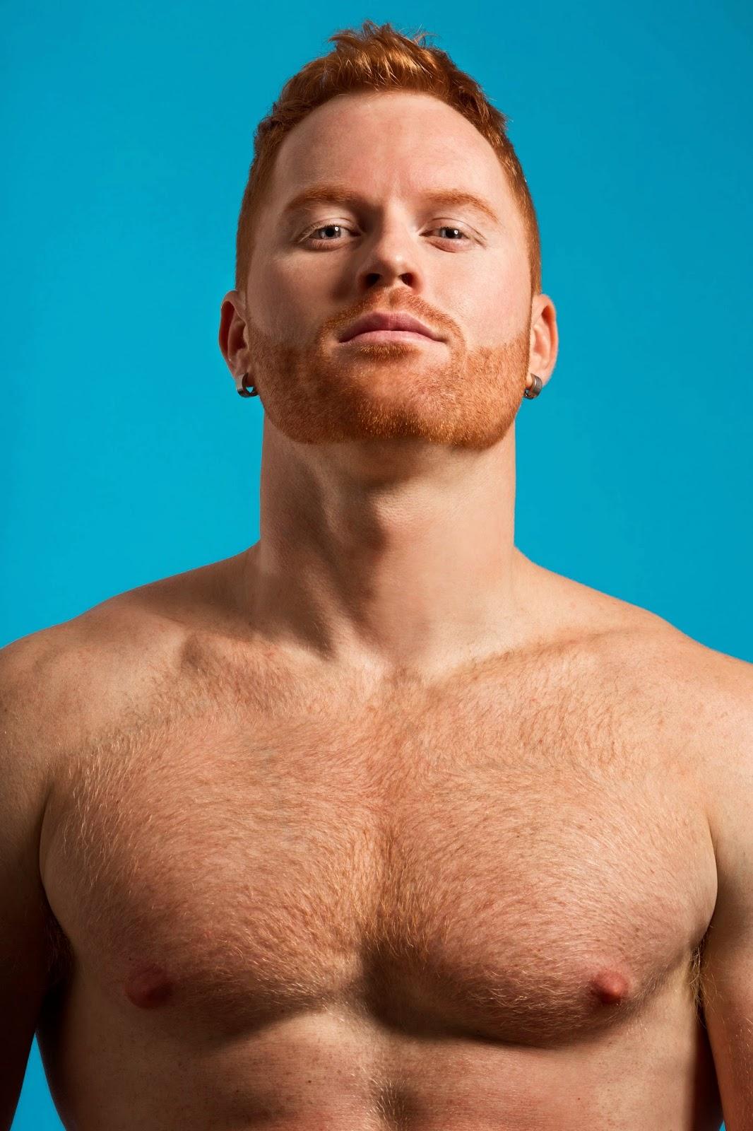 Nude men ginger