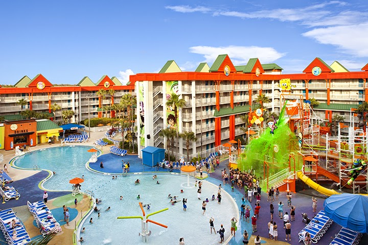 Lagoon Pool At Nickelodeon Suites Resort In Orlando Florida