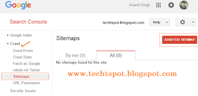 submit blogger sitemap to google webmaster tools