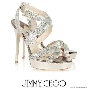 Kate Middleton wore Jimmy Choo Vamp Sandals