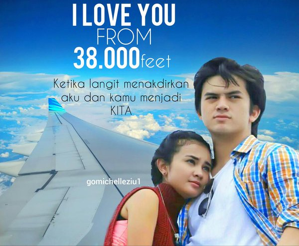 Download Film Indonesia I love You From 38000 Feet 2019