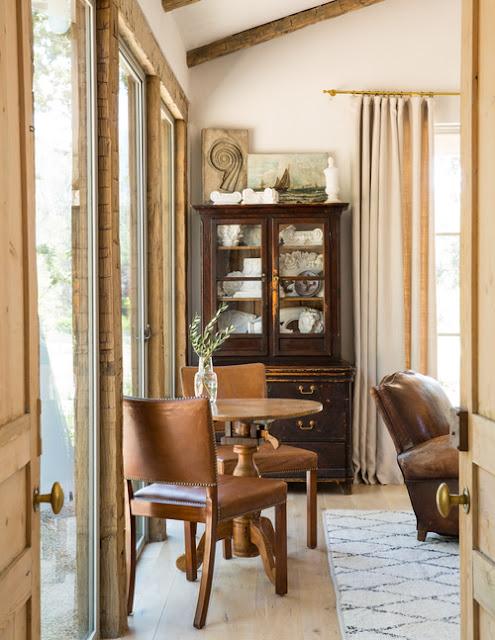 Patina Farm elegant yet rustic interior design in modern farmhouse - found on Hello Lovely Studio