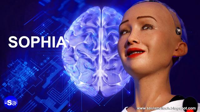 saul ameliach - sophia robot humanoide
