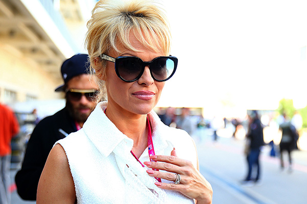 Pamela Anderson is selling her engagement ring