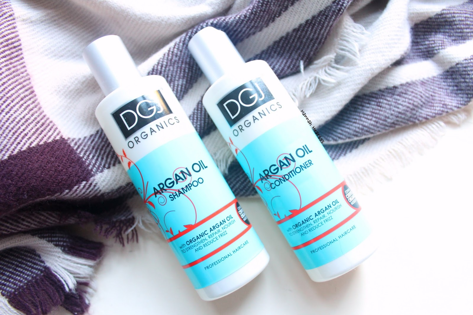 DGJ Organics Argan Oil Shampoo & Conditioner