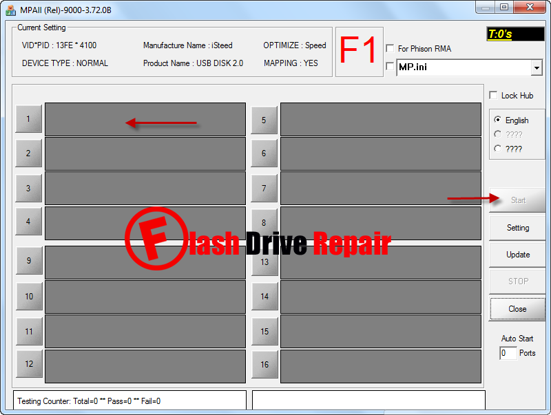 Phison PS2251-32 format tools