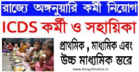 ICDS Anganwadi Helpers and Workers Recruitment 2019 - Apply online Now