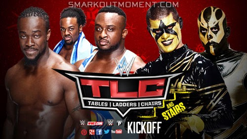 WWE Tables Ladders Chairs and Stairs 2014 kickoff match