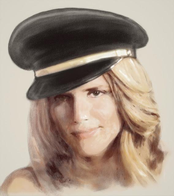 Законченный в цвете портрет Алис Тальони (фильм ca$h)