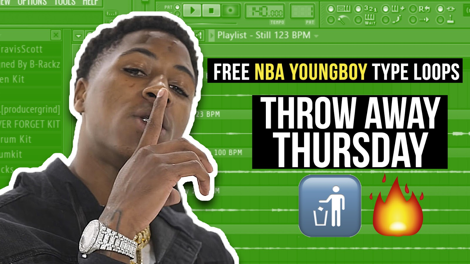 StudioTrappin - FREE NBA YOUNG BOY TYPE LOOPS FROM Sir Heist
