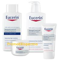 Logo Eucerin: diventa una delle 500 tester dei prodotti AtopiControl
