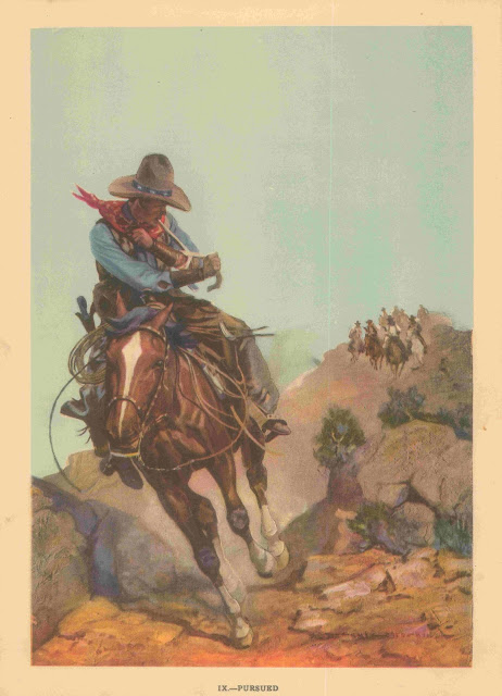 Gayle Hoskins - A Cowboy's Day #9 Pursued