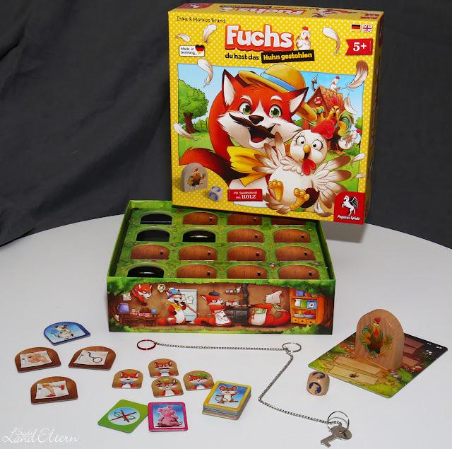 Fuchs du hast das Huhn gestohlen - Pegasus Spiele - Spielbericht - Empfehlung