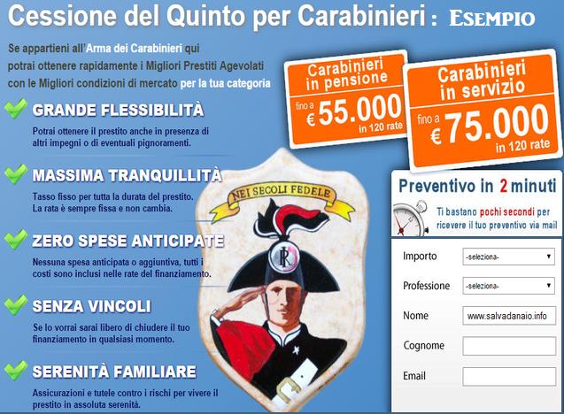 cessione-del-quinto-per-carabinieri-convezione-finanziaria