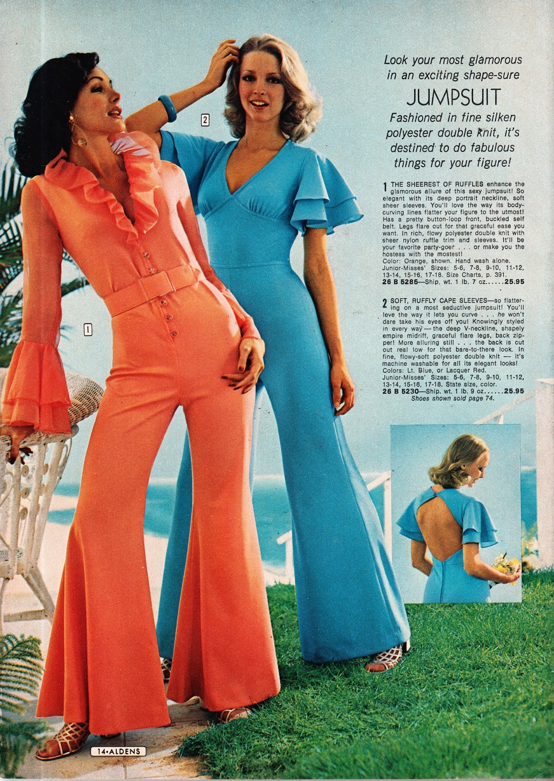Kathy Loghry Blogspot: Boogie Nights! Jumpsuits - Part 5!