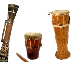 Alat Musik Maluku - Tifa
