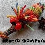 http://patronesjuguetespunto.blogspot.com.es/2015/03/patrones-insecto-trompeta.html