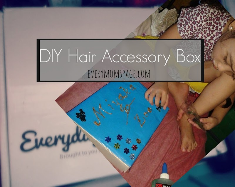 DIY Hair Accessory Box