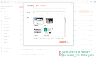 Daftar Blog Baru