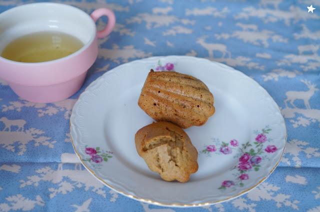 madeleines noisette glutenfree lactosefree vaisselle ancienne goûter
