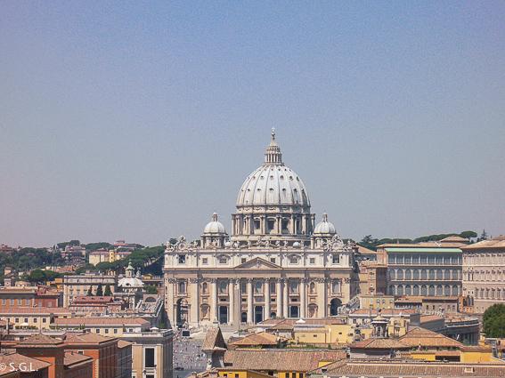 Basilica de San Pedro. 5 días en Roma