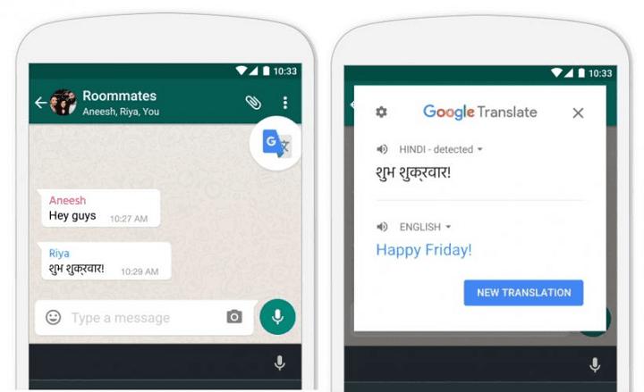 translate kata menggunakan google now