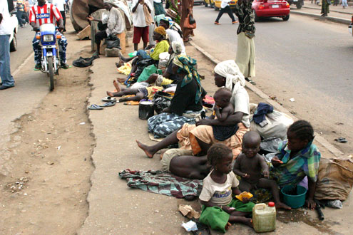 Beggars in Nigeria will start paying tax !