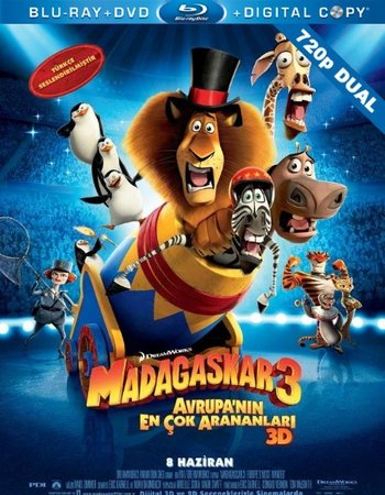 Madagascar 3 dual audio 300mb