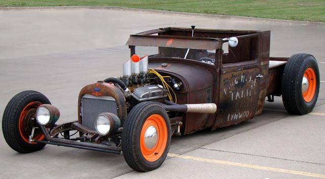 247 AUTOHOLIC: Truck Tuesday - 1929 Ford Rat Rod
