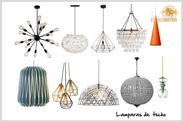 10 tips para tener en cuenta al momento de pensar la iluminación de tu casa lamparas colgantes de cielorraso. Post Stylistinaction.