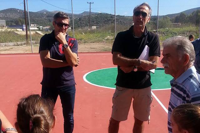 Ακαδημίες μπάσκετ στις νέες εγκαταστάσεις του Δρεπάνου