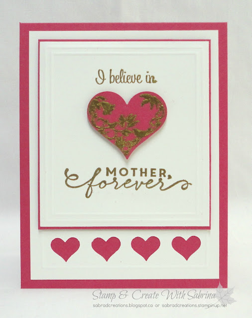 Stamp & Create With Sabrina: First Sight Mothers Day for a Friend 3