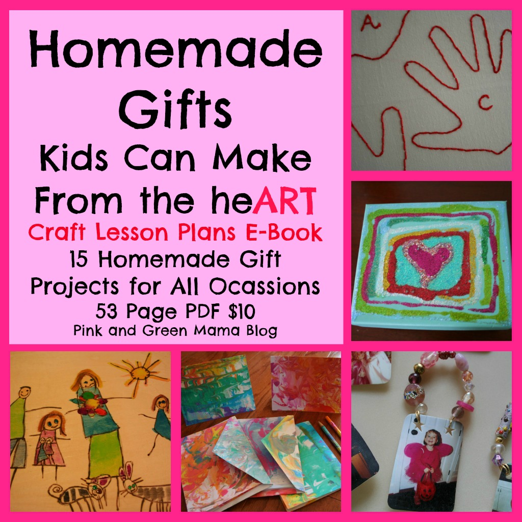 Pink and Green Mama: * Pink and Green Mama Crafts: Homemade Gifts ...