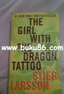 Novel The Girl With The Dragon Tattoo Stieg Larsson Bekas