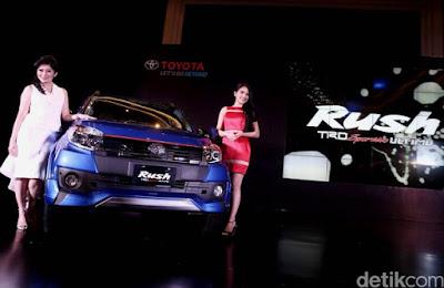 Toyota Cedas Pasarkan ALL New Rush