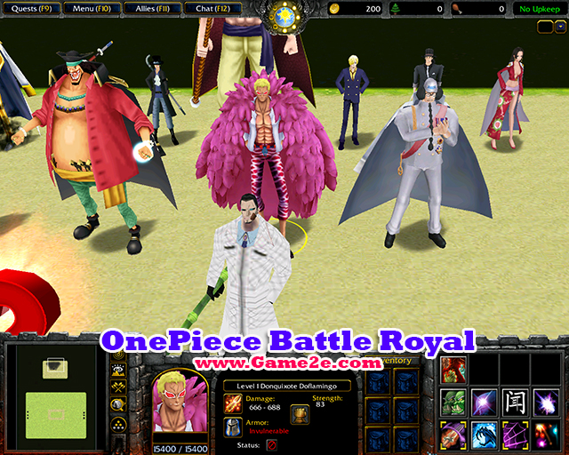 Download Map Warcraft 3 Naruto Vs Bleach Vs One Piece Ai