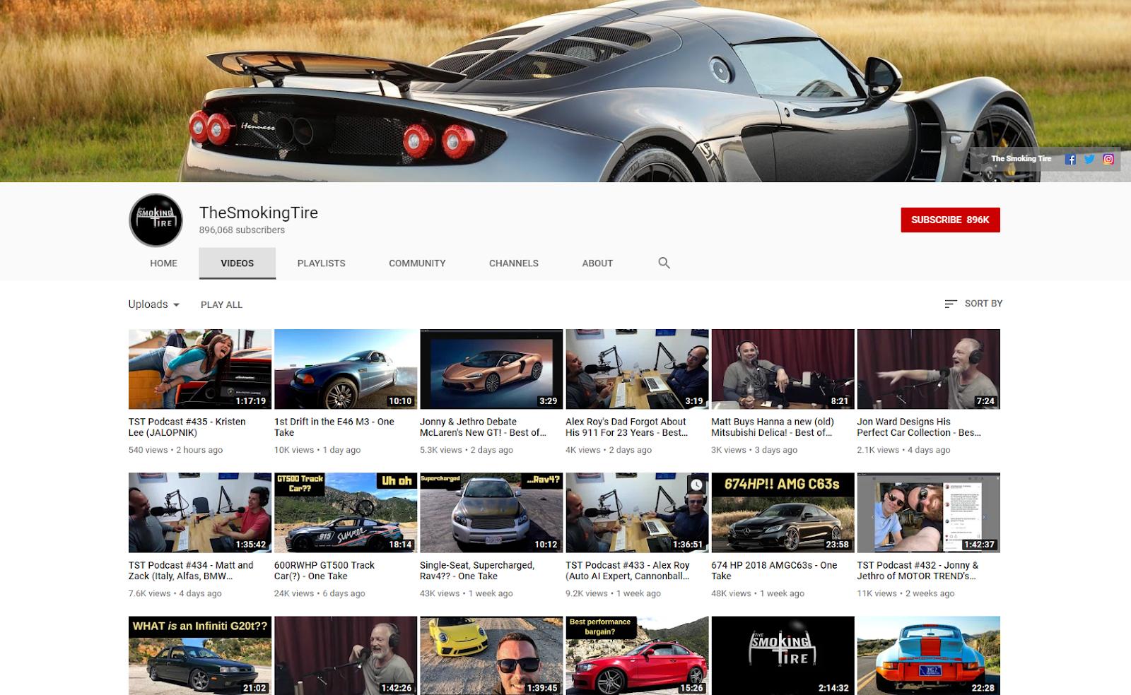 TheSmokingTire YouTube .com