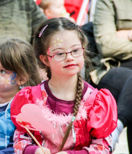 Jolina, Prinzessin mit Down Syndrom im CenterParcs