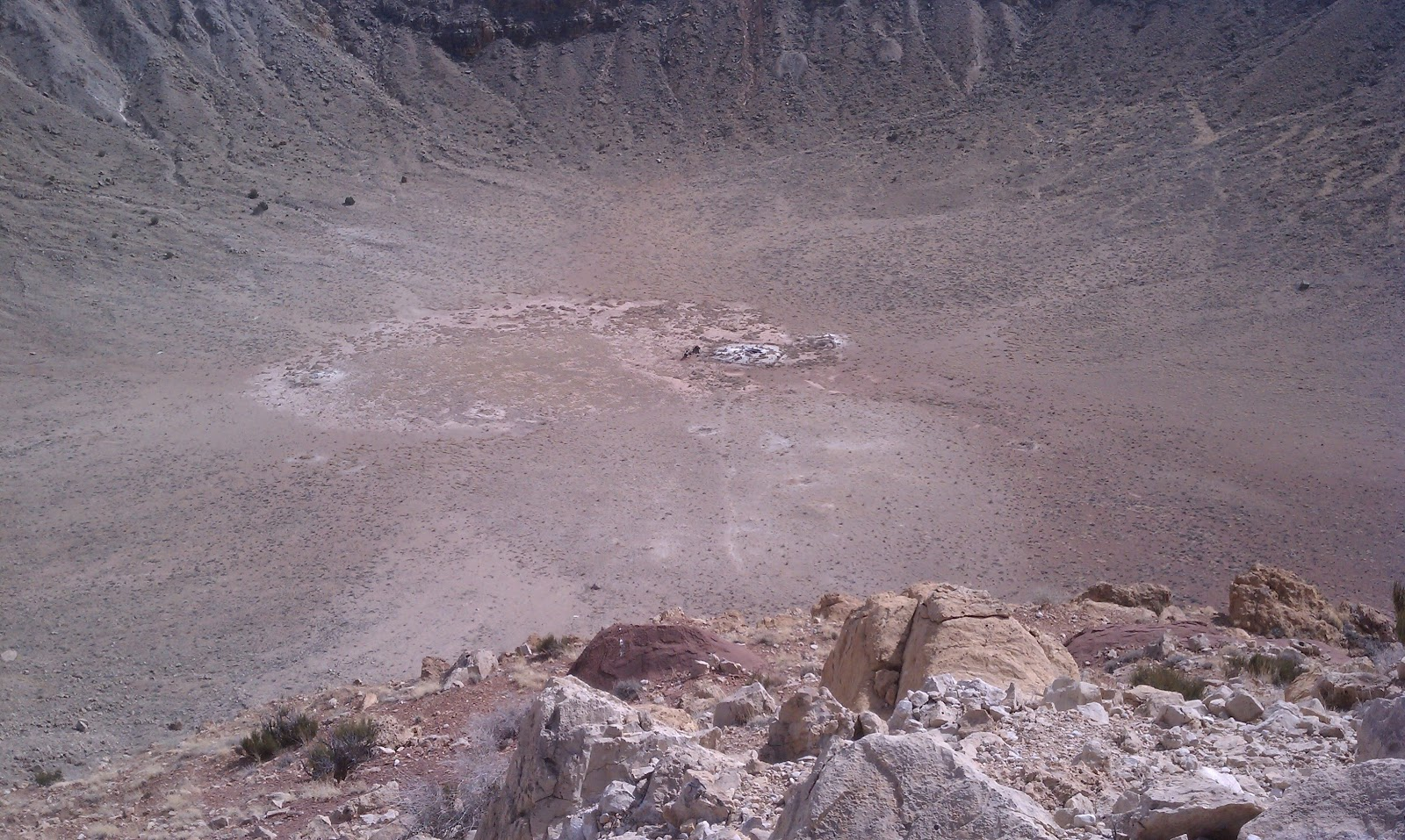 Dennis and Judy Travels: Meteor Crater