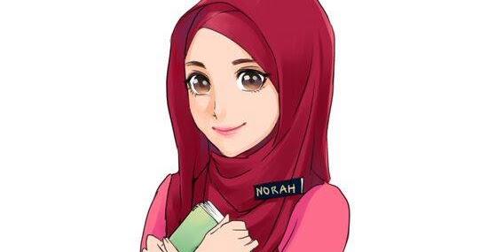 Viral Kartun Guru Muslimah Terbaru
