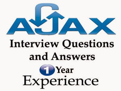 Ajax interview questions and answers for 1 year experience