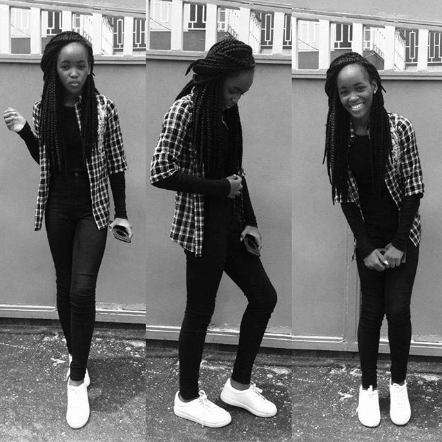 Mercy Aigbe's teenage daughter steps out in style