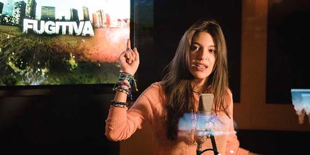 Ana Guerra, de Operación Triunfo, pone voz a la sintonía de 'Fugitiva'