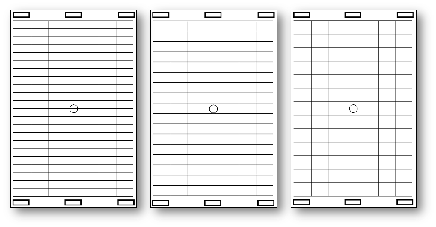 Line Guide with Letters (Landscape)