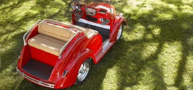 The Smoothster golf cart