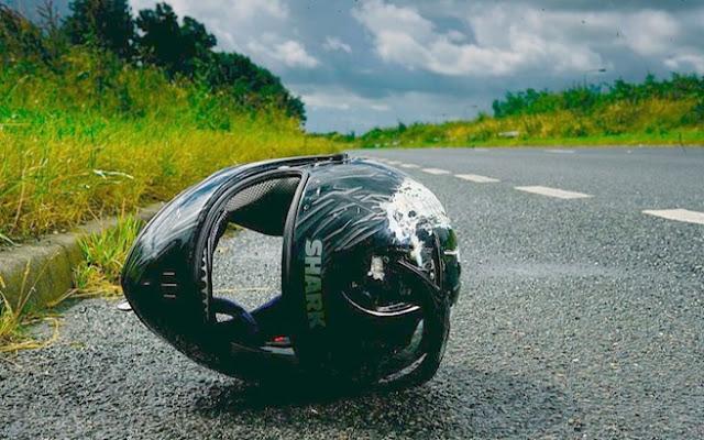 Τροχαίο με μοτοσικλέτα στο δρόμο της Χαλκιδικής