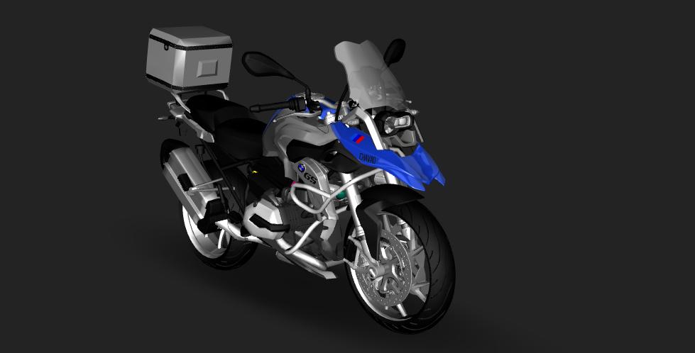 Bmw R1200 Gs 2015 Download Z3d Mods