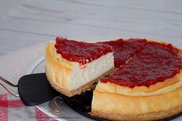 Cheesecake tradicional, receta sin azúcar