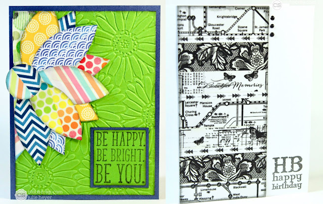 0518 Tool Stash Challenge cards Washi Tape #clubscrap #washitape #cards