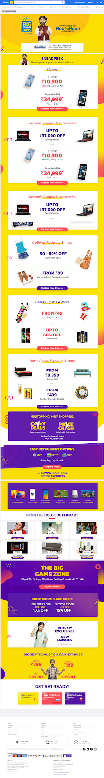 Big Shopping Days Offers on May 13th   16th  Get Great Offers during BSD 2018   Flipkart com